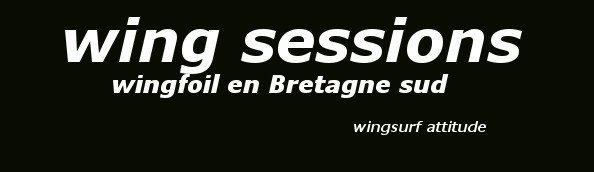 wingfoil en Bretagne sud